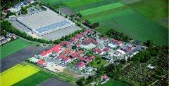 Luftbild des Gewerbegebietes Eichenau