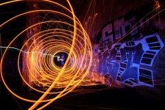 Fotoausstellung Lightpainting B. Neider