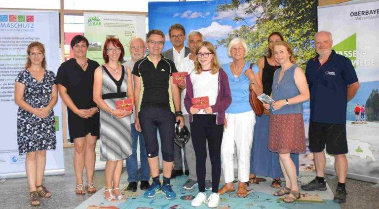 Stadtradlen 2018 Siegerehrung im Landratsamt