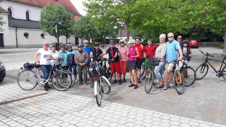 Stadtradel Auftakttour Eichenauer Radler