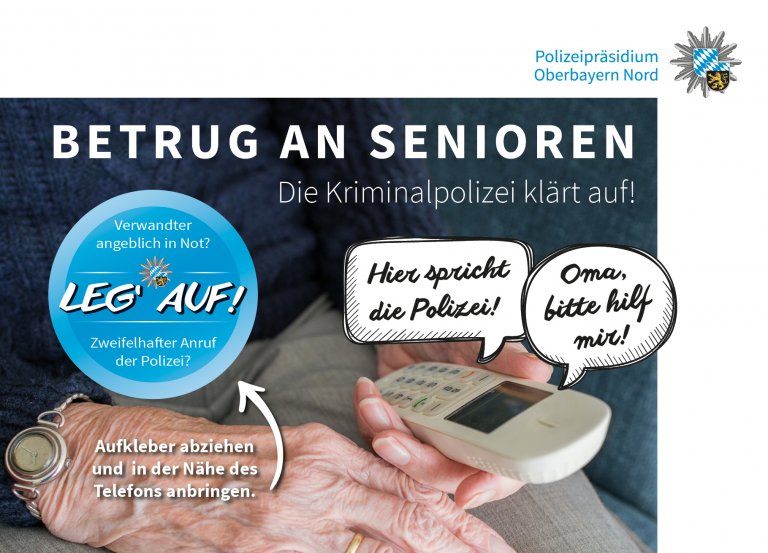 Präventions-Postkarte Polizei VS 3.12.2020