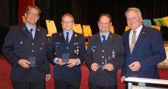Neujahrsempfang 2020 Feuerwehrdienst 25 Jahre